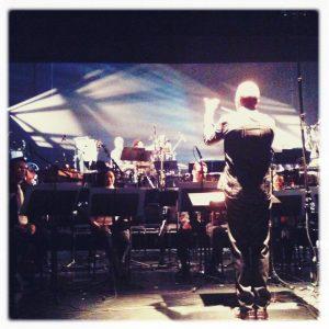 Steven Schick conducting
