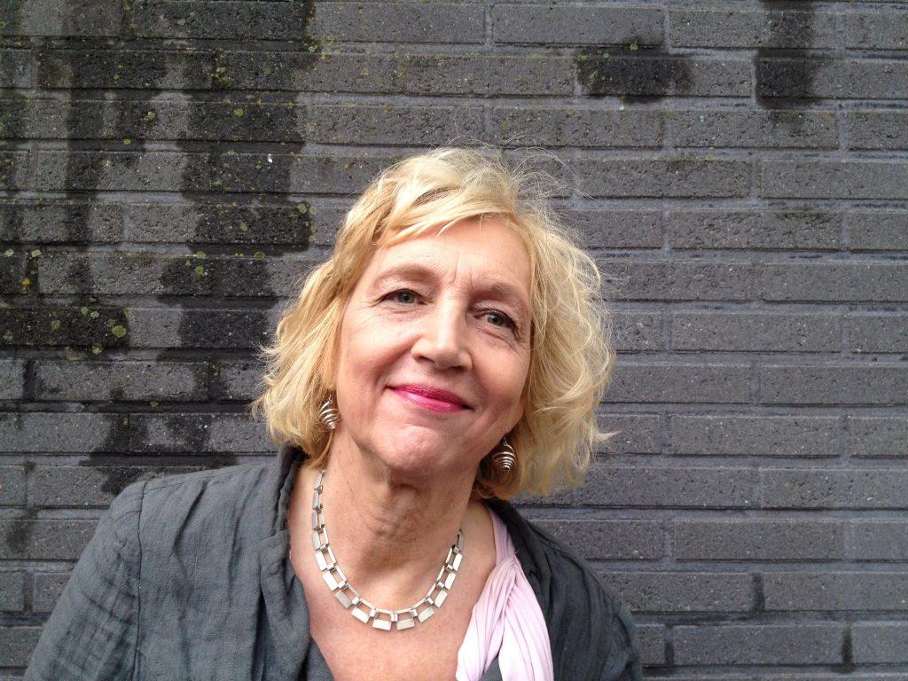 Schrijfster Anke Manschot. ©Sasja Jansen