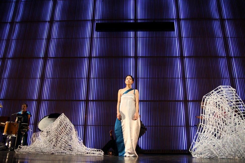 Words & Beyond II: Nan Sul Hun 29-10-2014 Muziekgebouw aan 't IJ (C) Ingrid Vente