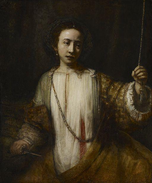 Lucretia door Rembrandt i