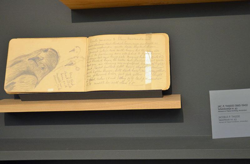 ... ook dit schetsboek van Natuurmonumenten-oprichter Jac. P. Thijsse, mede bekend van de Verkade-albums