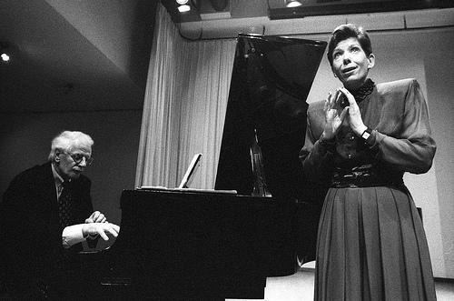 Ton Hartsuiker en Inge Frölich in 1993 (c) Co Broerse