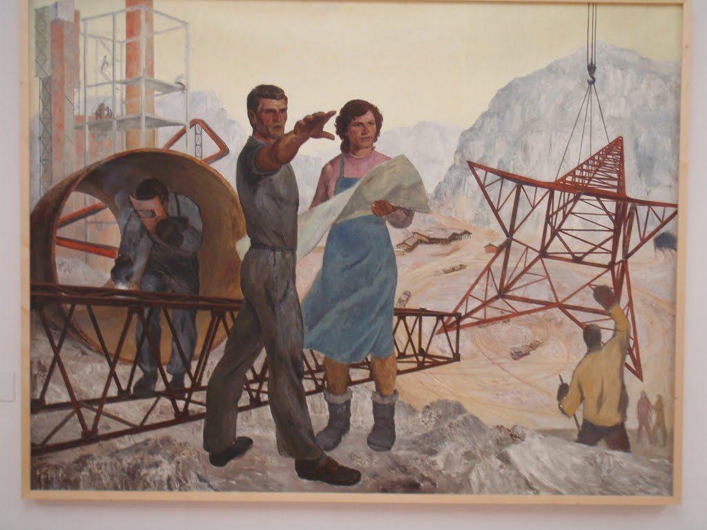 Sociaal -realisme uit Albanië