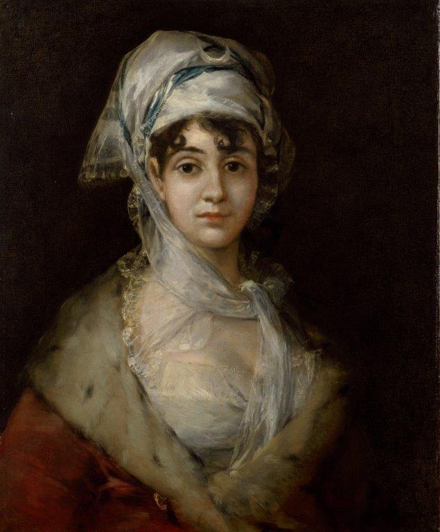 ''Portret van de actrice Antonia Zárate'', ca. 1810–11 ''Portret van de actrice Antonia Zárate'', ca. 1810–11, van Francisco José de Goya y Lucientes (1746–1828). © State Hermitage Museum, St Petersburg.