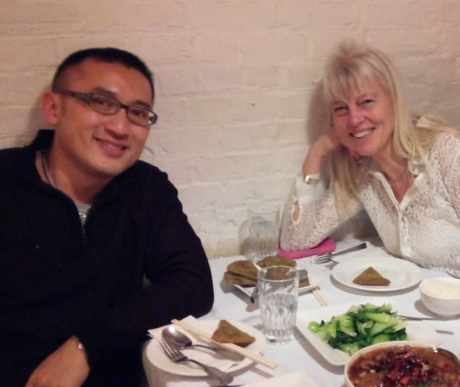 Huang Ruo & Thea Derks bij Grand Sichuan 16-11-2014