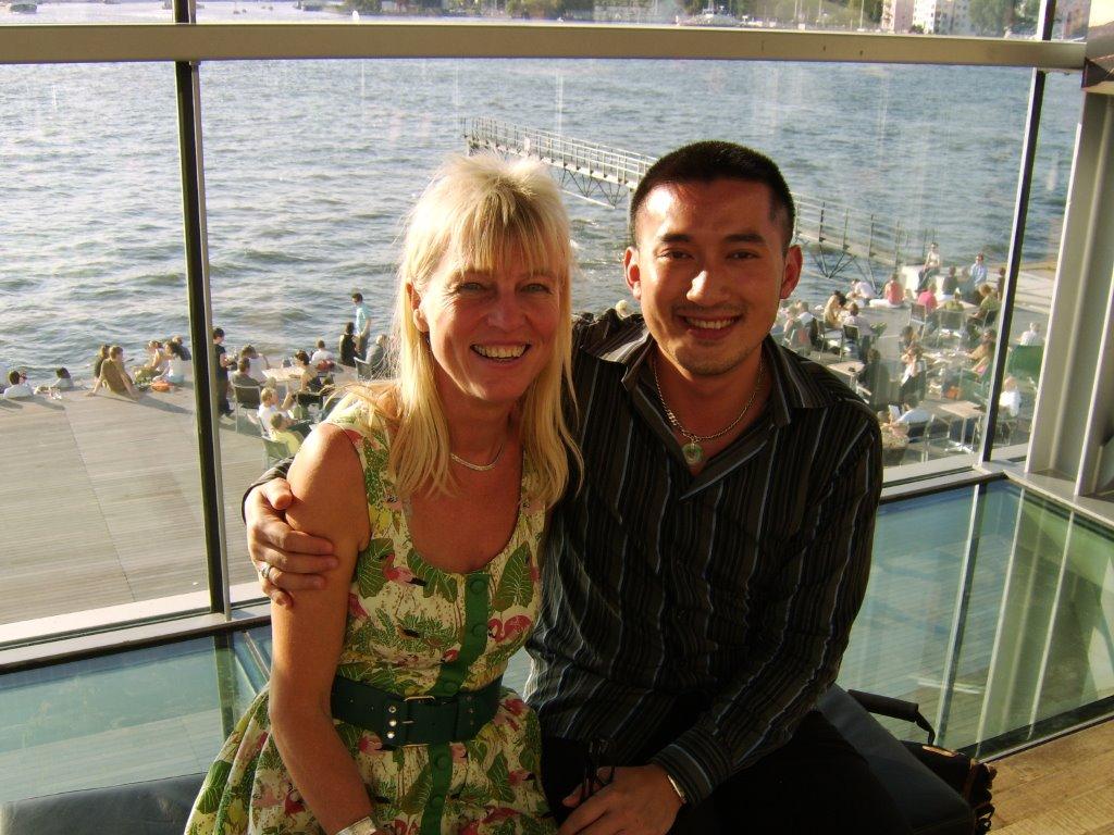 Thea Derks en Huang Ruo, Muziekgebouw aan 't IJ 2005