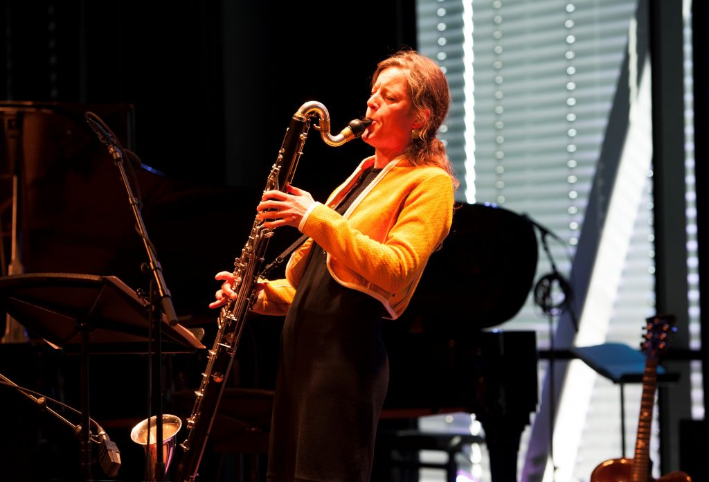 Fie Schouten in BIMhuis i 27 sept 2015,