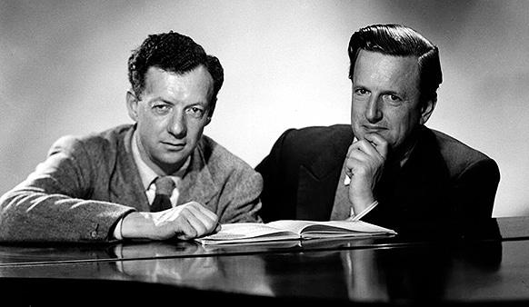 Benjamin Britten en Peter Pears (bron oe1.orf.at)