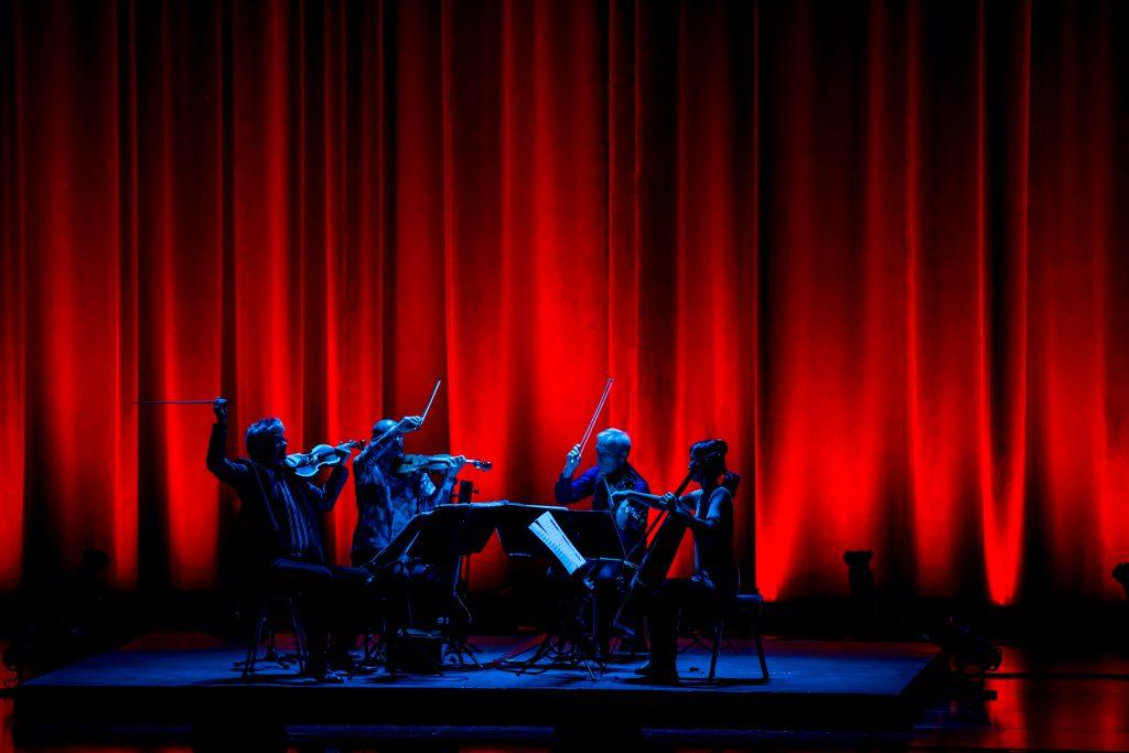 Fifty for the Future - Kronos Quartet. Foto Erik Kabik