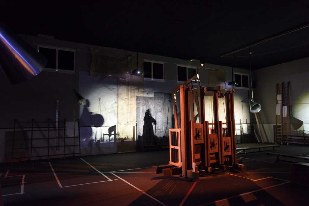 Werk van William Kentridge te zien op hacking Habitat