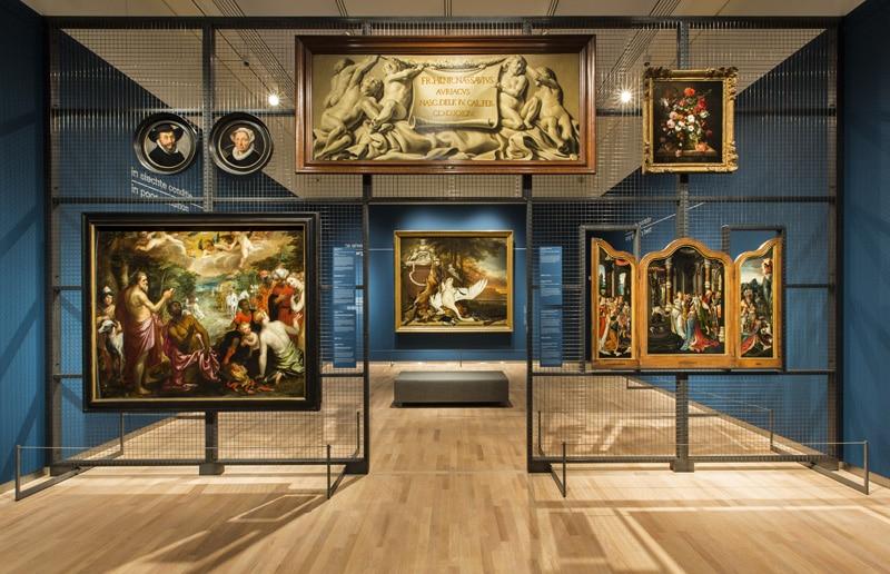 Tentoonstelling Hoogte- en dieptepunten uit het depot: Mauritshuis, Den Haag. Fotograaf: Ivo Hoekstra