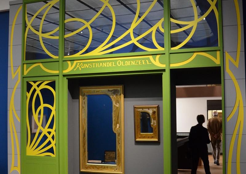 Reconstructie gevel kunsthandel Oldenzeel (foto auteur)