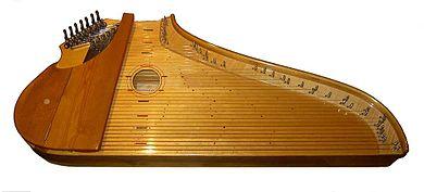 Kantele (fotocredit wikipedia)