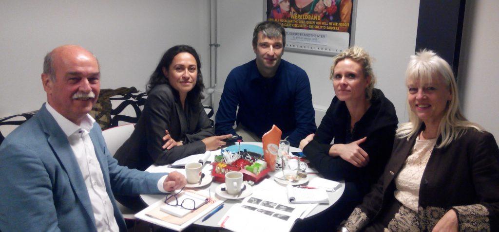 Persjury PCC 2016: Aad de Been; Makira Mual; Mark Brouwers, Maartje Stokkers, Thea Derks (voorzitter)