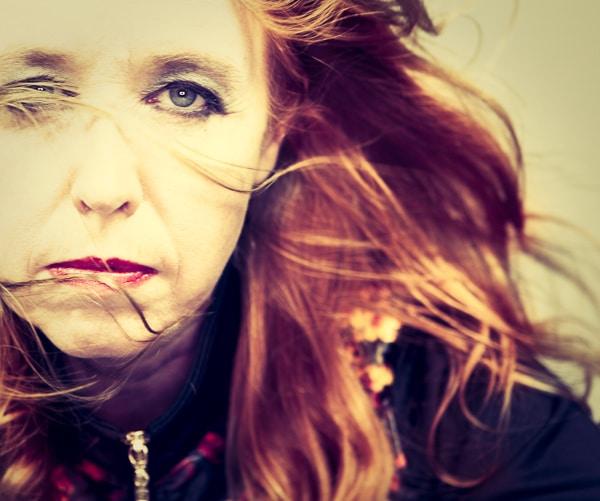 De Zweedse dichteres Aase Berg © Elisabeth Ohlson Wallin