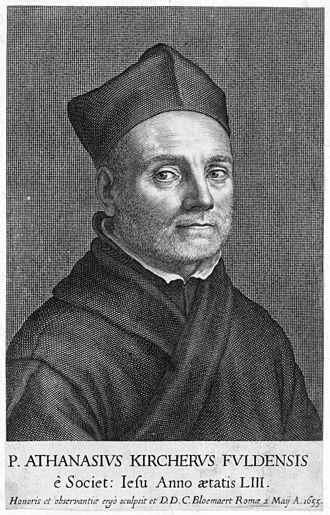 Athanasius Kircher (fotocredit wikipedia)