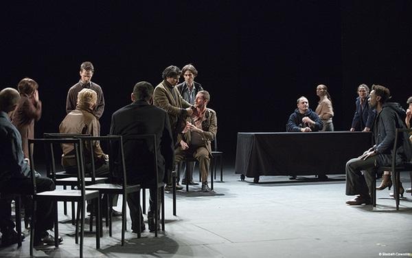 Ça ira (1) Fin de Louis, Joël Pommerat, foto: Elisabeth Carecchio.