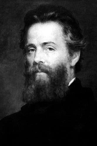 Herman Melville (fotocredit Wikipedia)