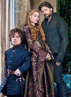 Tyrion, Cersei en Jamie Lannister