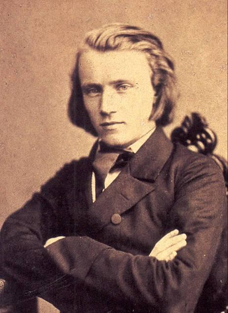 Johannes Brahms (fotocredit: Wikipedia)
