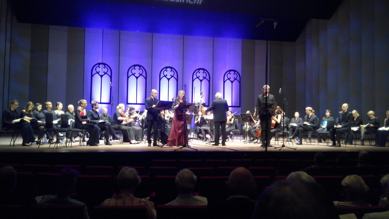 Ensemble Currende, studenten en almumni Koninklijk Conservatorium in Alceste 17-9-2016