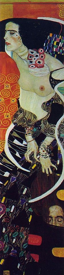 Salome, schilderij van Gustav Klimt (fotocredit Wikipedia)