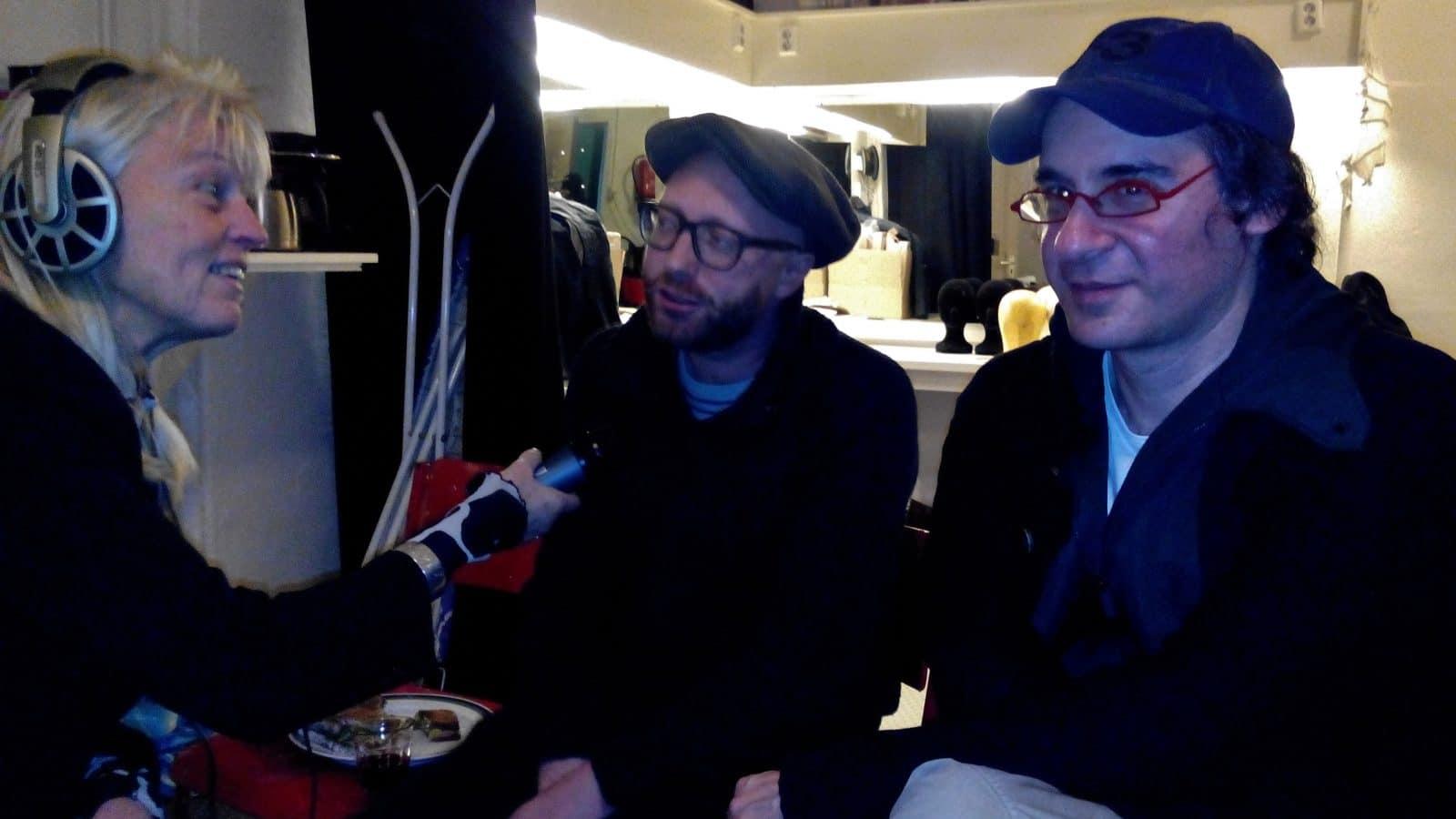 Thea Derks, Matthias Mooij en Benedict Weisser, 27-11-2013
