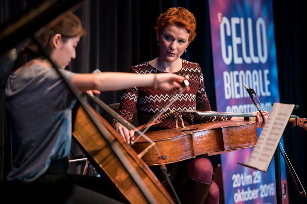 Jelena Ocic geeft masterclass