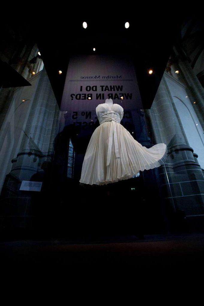De witte jurk uit de film 'Seven years itch'. Foto: Evert Elzinga