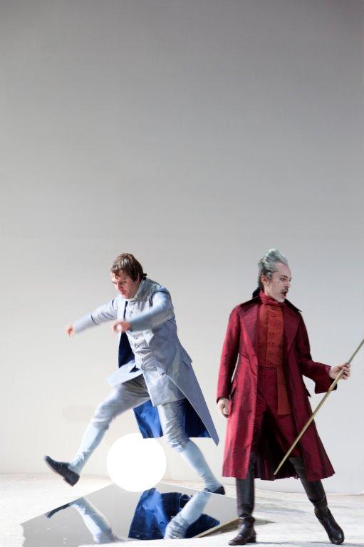 Thomas Oliemans (Lescaut) & Alain Coulombe (Geronte di Ravoir). (c) Bernd Uhlig