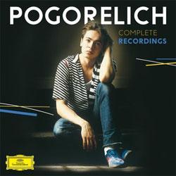 Cover van album van Pogorelich uit zijn jonge jaren