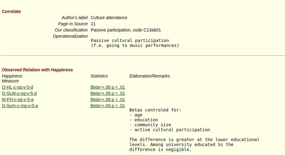 Conclusies over opleidingsniveau uit webpagina waarop alle ruwe gegevens te vinden zijn.
