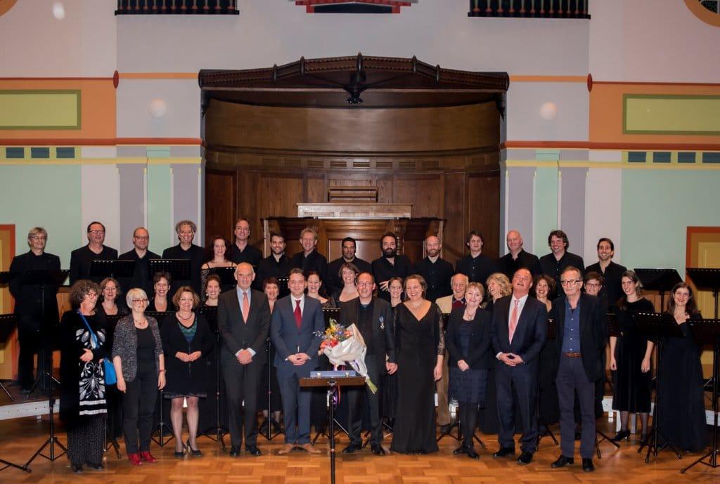 Emvre Ümver, Daniel Reuss en Cappella Amsterdam, 2-11-2016 Orgelpark Amstedam (c) Diederik Rooker
