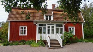 Het geboortehuis van Astrid Lindgren. ©AQM