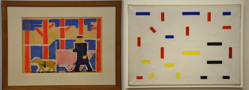 Van der Lecks Hondenkar: van figuratief naar abstract. Foto's auteur