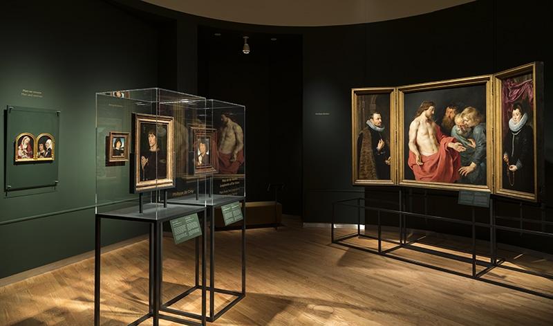 De oudere meesters op de tentoonstelling (foto Mauritshuis)