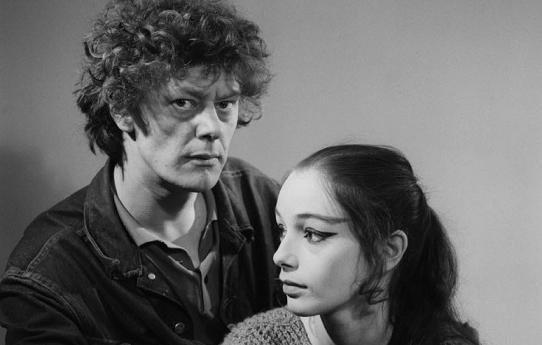 1967, choreograaf Koert Stuyf en danseres Ellen Edinoff