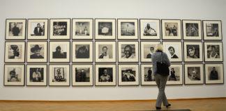 Anton Corbijn in het Gemeentemuseum (foto auteur)