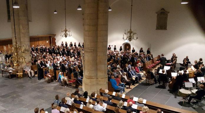 Missen in de Kloosterkerk (foto Christiaan de Roo)