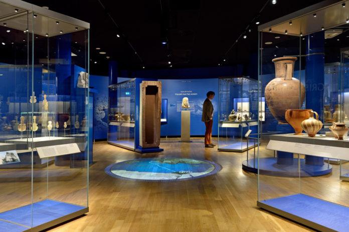 Grieken in Rijksmuseum van Oudheden, foto Mike Bink