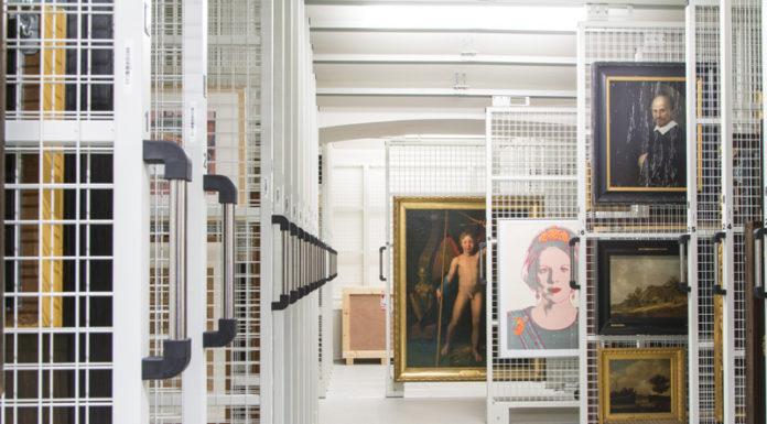Depot Mauritshuis, Den Haag, Fotograaf: Ivo Hoekstra