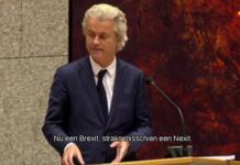 Screenshot van Nieuwsuur Geert Wilders,