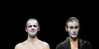 Stella actors Oscar Batterham and Richard Cant © Matthew Hargraves