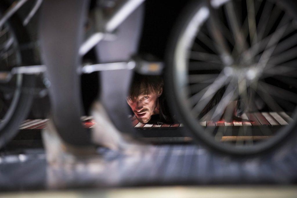 Scenefoto de fietsendief, Johan petit. Bart van Nuffelen, Foto: Kurt van der Elst