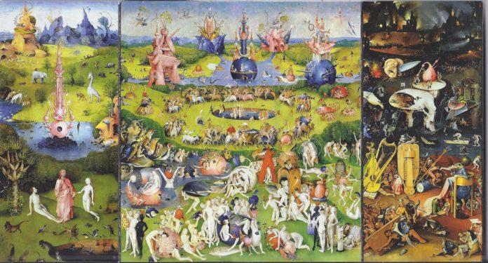 Jeroen Bosch: Tuin der lusten triptiek.