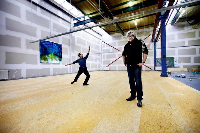 Garry Feingold en Ger Jager, Dansmakers, 2012. Foto: Jean-Pierre Jans.