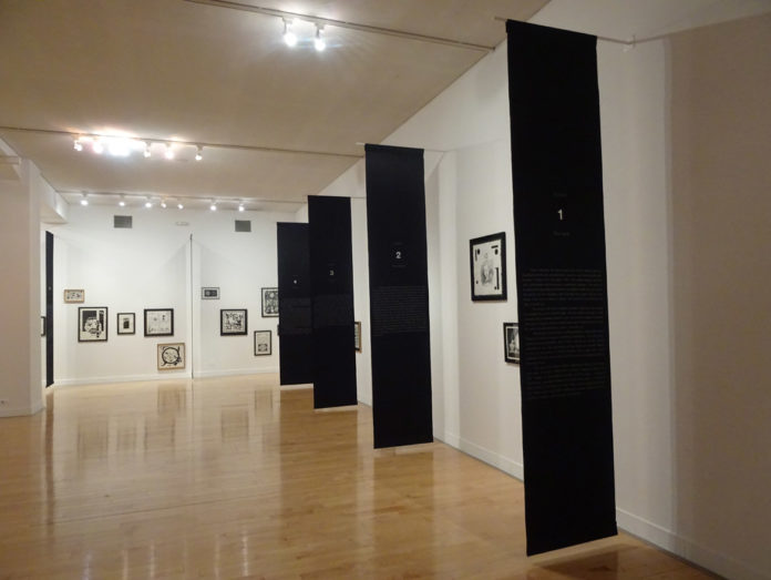 """Live and Die as Eva Braun"" 1995–97, Roee Rosen installation view, Documents 14, Athens"