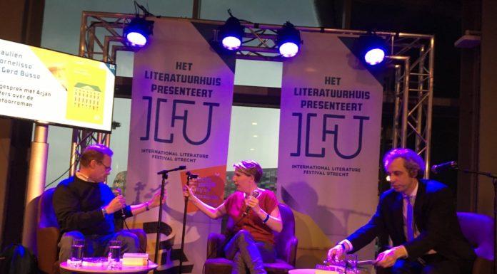Vertaler Gerd Busse, Paulien Cornelisse en Arjan Peters