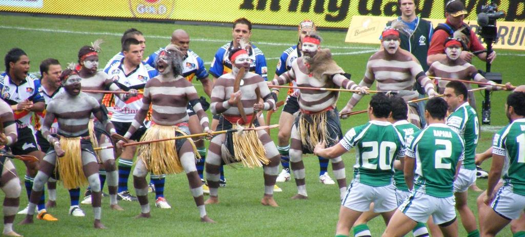 Hakadans van Maori in Nieuw Zeeland
