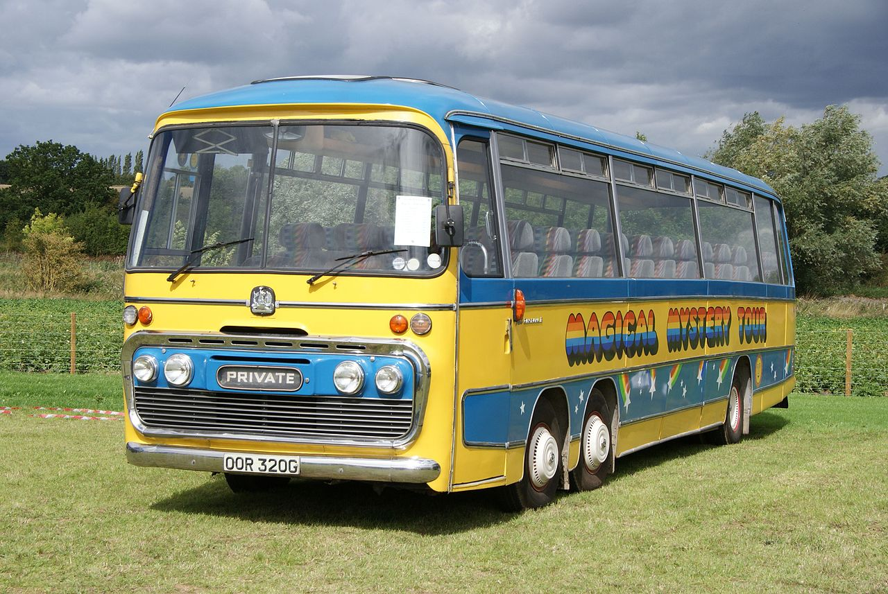 Tourbus Beatles (replica) Foto: Chris Samson CC.BY 2.0